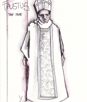 Pope Rendering