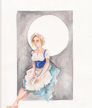 Cinderella Rags Rendering