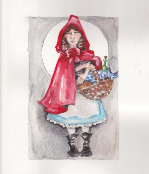 Little Red Ridinghood Rendering