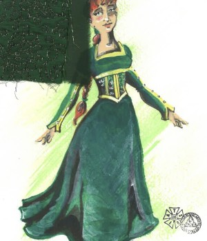 Princess Fiona Rendering