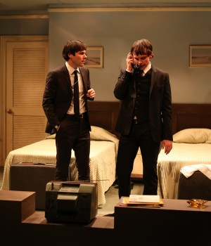Tommy Crawford as Paul, Christopher Sears as John. Photo Credit: Rob Strong 2018